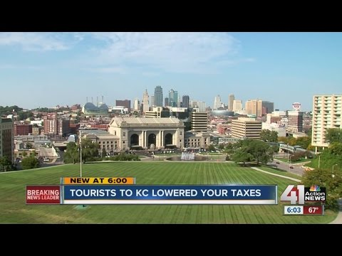 Tourists to Kansas City lowered taxes