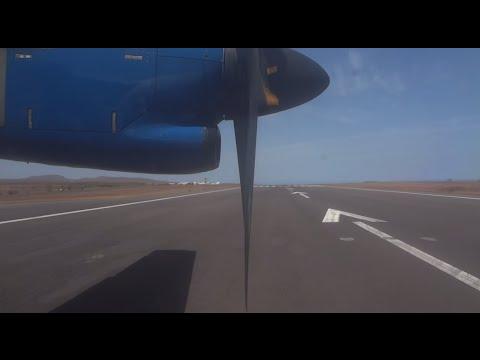 TACV Take Off Praia International Airport - Santiago Cabo Verde / Kaapverdië