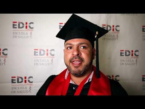 Testimonial Manuel Garci?a en Graduacio?n EDIC College 2019