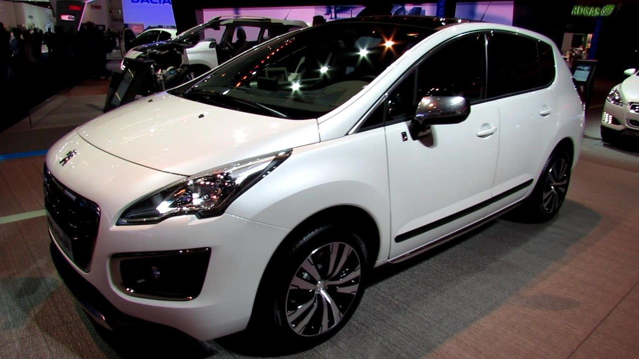 2014 Peugeot 3008 Hybrid4 Exterior And Interior
