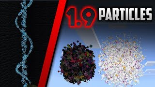 NEW PARTICLES in 1.9.0.0!! (21 total) - Minecraft PE (How to use /particle command part 3)