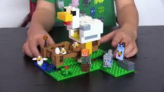 Mine Craft Lego Chicken Set (21140) 198 pieces Piggy Bank Purchase