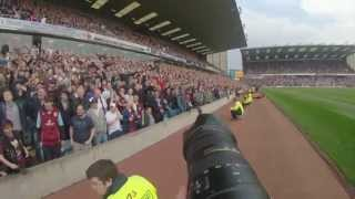 Burnley FC: Promotion from pitch side