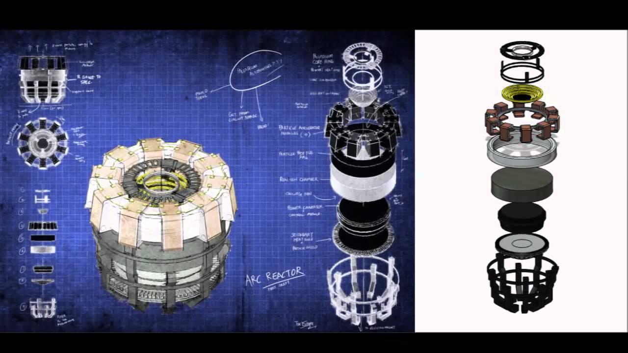 Iron Man Arc Reactor 3d Model Youtube