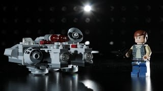 Panasonic GX7 + Speedlites x3 + Snoot: Han Solo Lego Microfighter Product Photography
