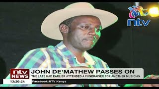 Video of John DeMathew's last performance minutes before accident