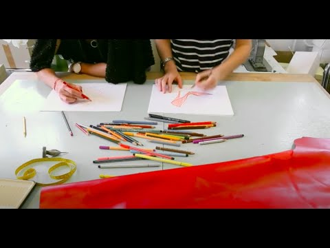 The making of RED STILETTO of Dobó Kata by rekavago collection