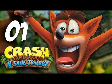 Crash Bandicoot 2 : On tente le 100% ? #1 (FR Let's Play N-Sane Trilogy PS4)