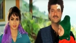 Anil kapoor starts liking sridevi - mr. bechara | bollywood movie scene 8/12