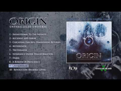 ORIGIN - Unequivocal (Official Track Stream)