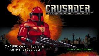 Crusader No Remorse gameplay (PC Game, 1995)