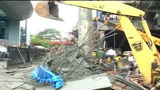 Mumbai: Metro bridge collapses near Andheri