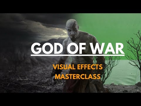 God of War Behind The Scenes on the making of visual effects (3ds max gdc best of e3 cg)