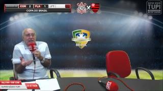 Corinthians 2 x 1 Flamengo - Semifinal - Copa do Brasil - 26/09/2018 - AO VIVO