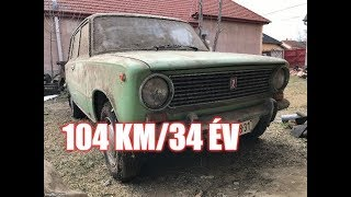 104 km-t futott LADA EGY PAJTÁBÓL!!! - Barn find Lada with 104 kms (english subs)