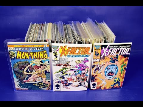 Epic Comic Book Collection Pickups Garage Sale Haul Bronze Age Key Issue Video