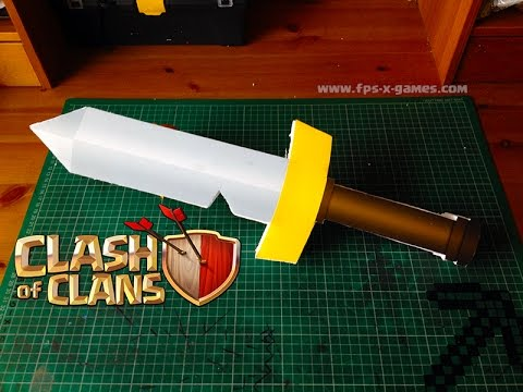 Making a Simple Clash of Clans Barbarian Sword