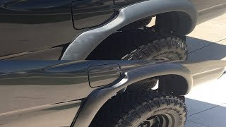 Restore your black fender flares for less than $15.