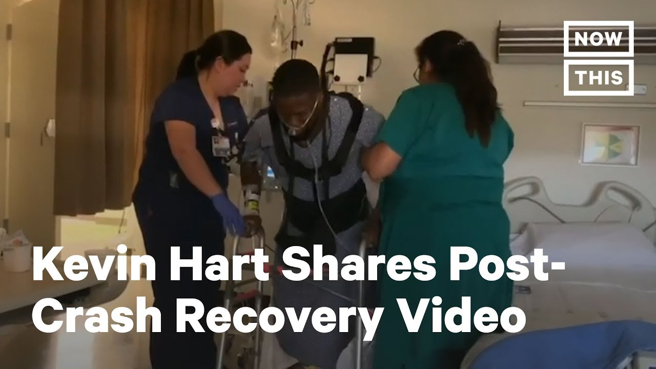 Kevin Hart car crash: Actor shares emotional video about life ...