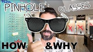 Jake Steiner: Pinhole Glasses Reviewed: Do They Improve Eyesight?