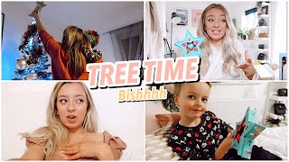 Putting Up The Christmas Tree, Early Presents a Hair Update!
