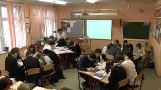 Открытый урок в 11 В классе по теме: «Достойный труд в 21 веке. (За что борются профсоюзы)»