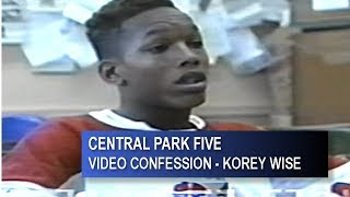 central-five-park-korey-wise-full-video-confession
