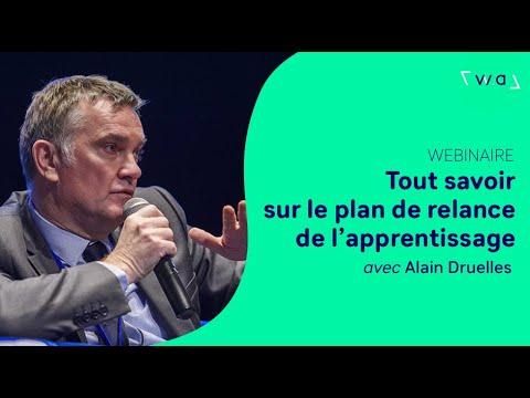 Tout savoir sur le plan de relance de l'apprentissage avec Alain Druelles