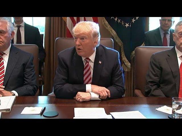 Trump administration key departures