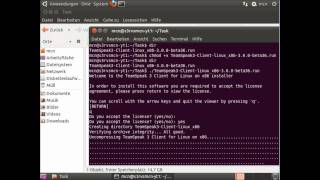 [Ubuntu] How to install Teamspeak 3 Client (German / Deutsch)