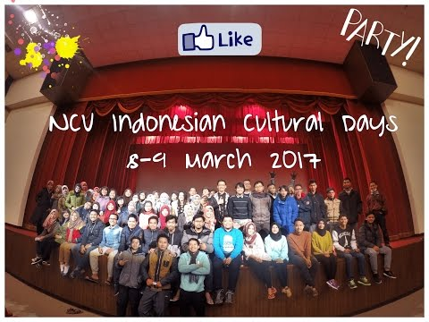 Indonesian Cultural Day 2017 | National Central University, Taiwan