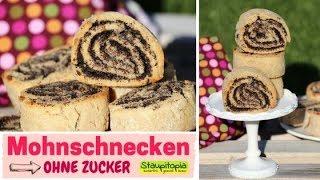 Spar dir den Gang zum Bäcker! Mit diesem Rezept kannst du Mohnschnecken ohne Zucker selber machen