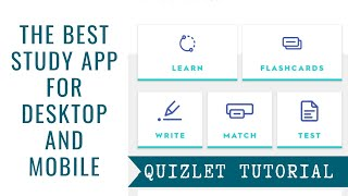 How to Study More Productively Using Quizlet