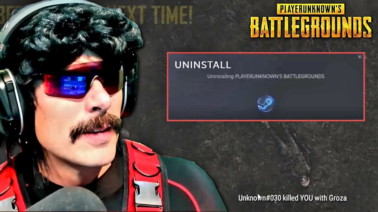 DrDisrespect BACK to PUBG After A Long Time But UNINSTALLS IT in RAGE & ROASTS Developers