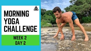 Morning Yoga Challenge Week 2 Day 2 - Man Flow Yoga
