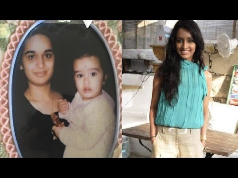 Childhood Pictures Of Shraddha Kapoor