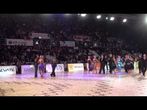 DANCE MASTERS 2011 - IDSF INTERNATIONAL ADULT OPEN LATIN - QUARTERFINAL - P2