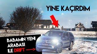 Babamın yeni arabasını kaçırdım ve DRIFT yaptım! - Mercedes x250d 4matic 2019 inceleme