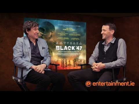 Stephen Rea and director Lance Daly on Black 47, the first movie about the Irish famine