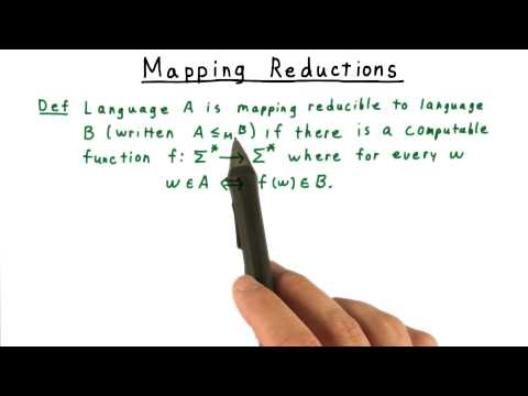 Mapping Reductions - Georgia Tech - Computability, Complexity, Theory: Computability