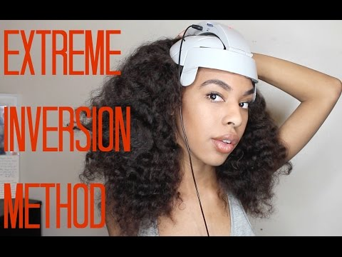 How to: Inversion Method + Head Massager for fast Hair Growth
