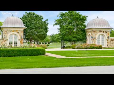 Peek inside the largest home in North Texas, now up on auction