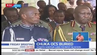 Chuka OCS who was killed by mob buried in Nyeri
