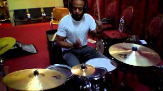 """God in Me"" feat. (kierra sheard) Mary Mary (Drum Cover)- Stephane Athus on Drum"