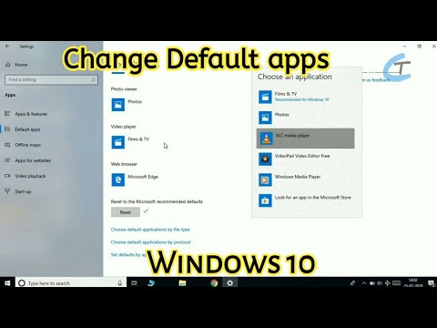 How To Set Default Apps In Windows 10 ! | Tamil