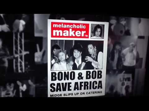 Band aid and Bono star stories