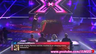 Bella Ferraro - X Factor Australia 2012 - Week 6 Live Shows