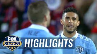 FC Dallas vs. Sporting Kansas City | 2017 MLS Highlights