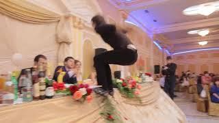 Лезгинка на Дагестанской свадьбе. Махачкала