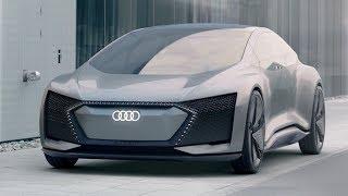 Audi Aicon Concept - IAA 2017 (Driving, Interior & Exterior Footage)